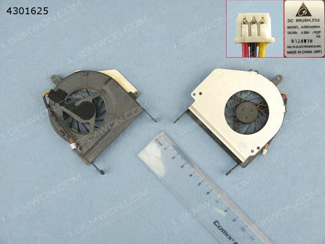 CPU Cooling Fan for GATEWAY M-1624 M-1626 M-1600 (Pulled)