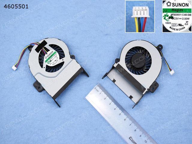 CPU Cooling Fan for ASUS X45VD R500V K55VM (For Integrated graphics)