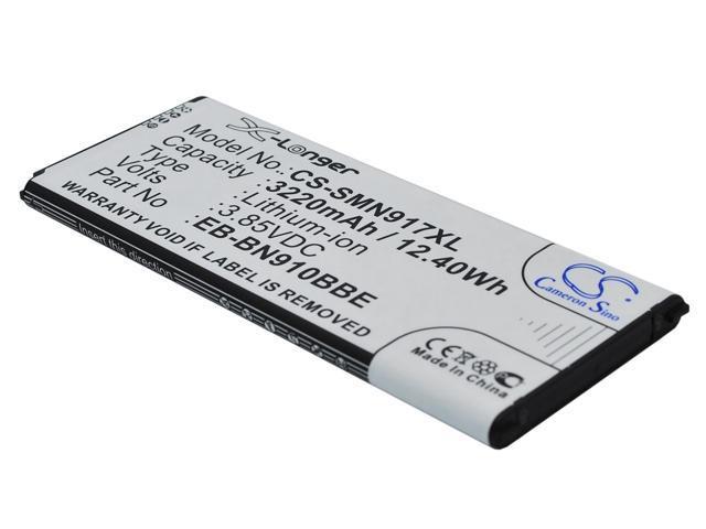VinTrons 3220mAh Battery For SAMSUNG Galaxy Note 4, SM-N910A, SM-N910C, SM-N910FD