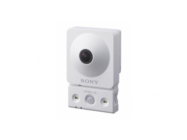 SONY SNC-CX600 Indoor 720p HD Network Camera, 120º Horizontal Viewing Angle, PoE