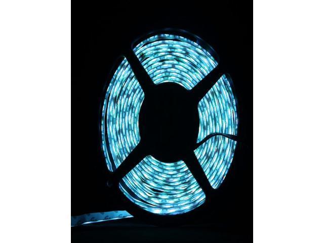 3528 SMD 300-LED Light Blue 5m Flexible Waterproof ip65 LED Strip Lights