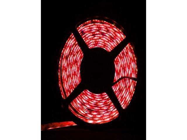 3528 SMD 300-LED Light Red 5m Flexible Waterproof ip65 LED Strip Lights