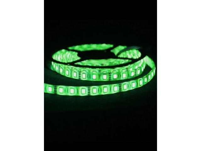 5050 SMD 300-LED Light Green 5m Flexible LED Strip Lights
