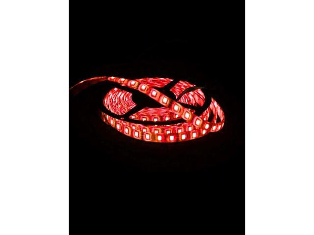 5050 SMD 300-LED Light Red 5m Flexible ip65 LED Strip Lights