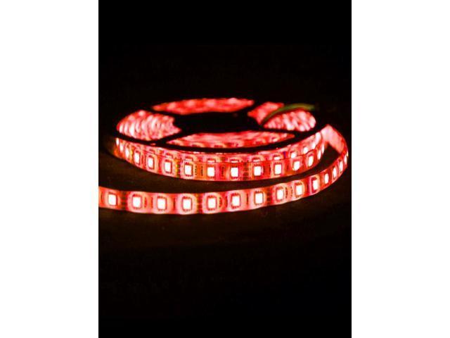 5050 SMD 300-LED Light Red 5m Flexible LED Strip Lights
