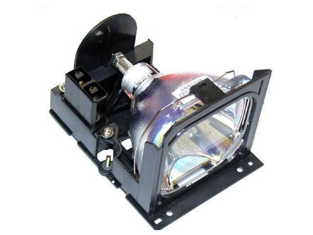 DLT VLT-PX1LP replacement projector lamp with housing for Mitsubishi A+K LVP-SA51, LVP-X70BU, LVP-X80U, VLT-PX1LP