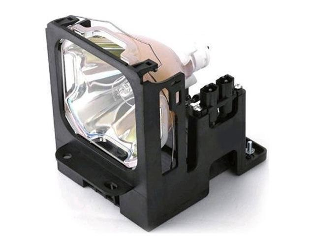 DLT VLT-X500LP replacement projector lamp with housing for Mitsubishi 499B028-10