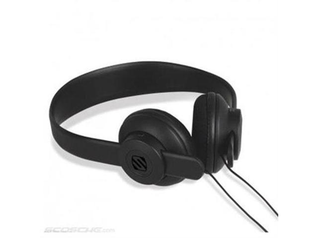 Scosche On Ear Headphones Black