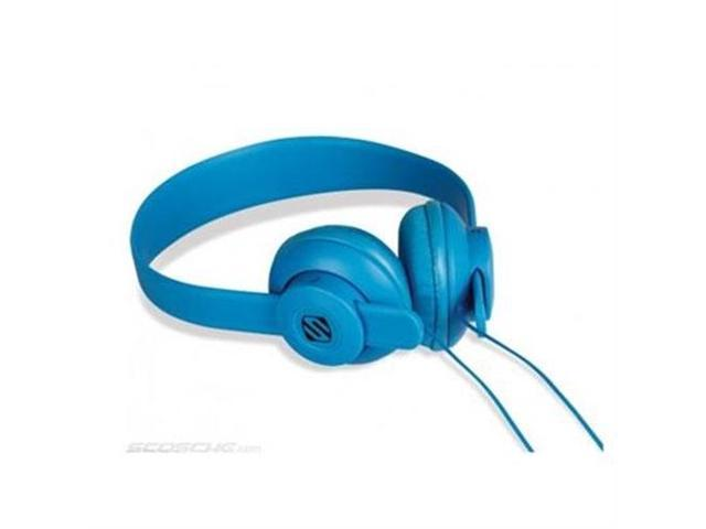 Scosche On Ear Headphones Blue