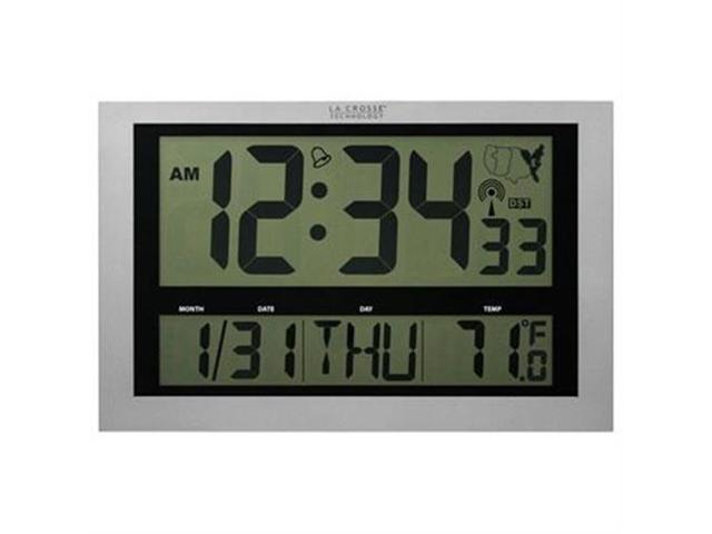 La Crosse Technologies Atomic Clock With Thermometer