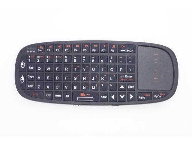 New K10 2.4G Wireless Mini Keyboard For PC/smart TV/Android TV box With US Layout