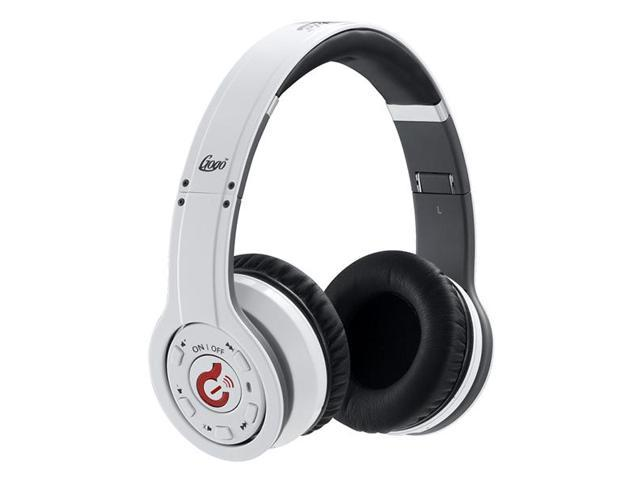 Wireless Bluetooth Syllable G08 Noise Reduction Cancellation Headphones white and black