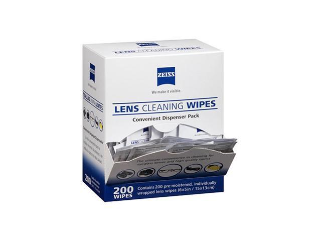 Zeiss Pre Moistened Lens Cleaning Wipes 200 Ct Newegg Com