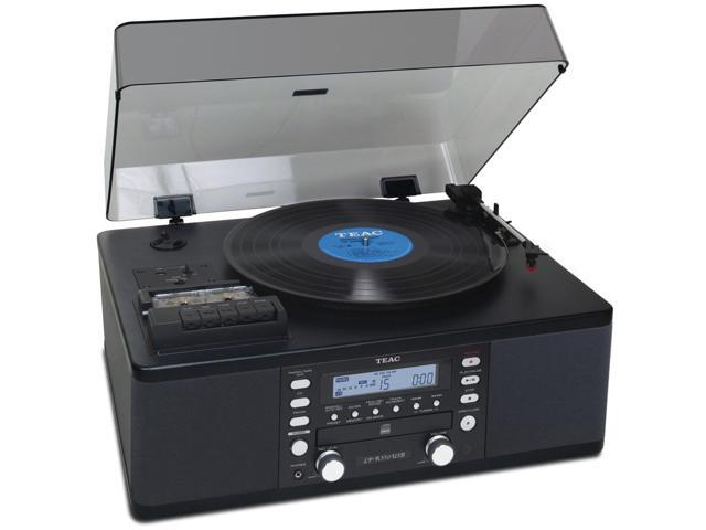 CD Recorder with Cassette and Turntable