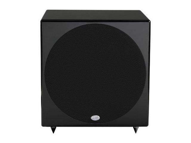 NHT B-10d 300-Watt Powered Subwoofer with DSP (Piano Gloss Black, Single)