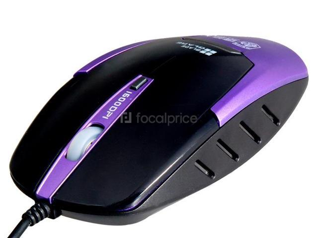 DY-206 1600DPI Wired Mouse (Blue)