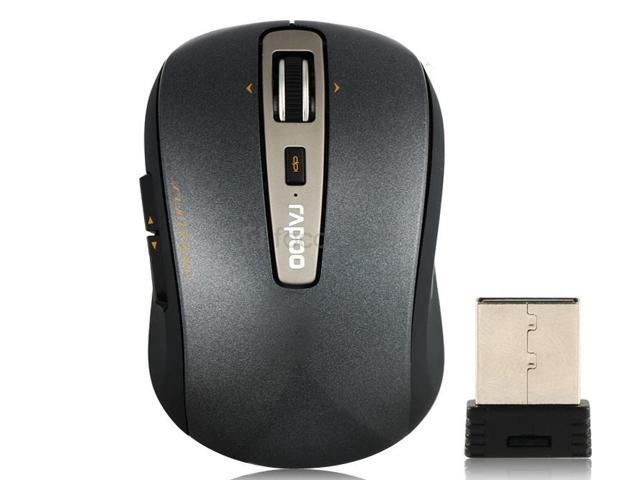 RAPOO 3920P 5GHz Wireless Laser Mouse (Black)