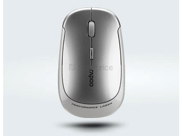 Rapoo 3500 Laser Wireless Mouse (Silver)