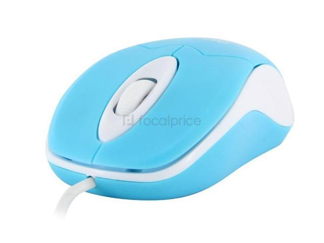 Deiog DY-210 Wired Mouse (Blue)