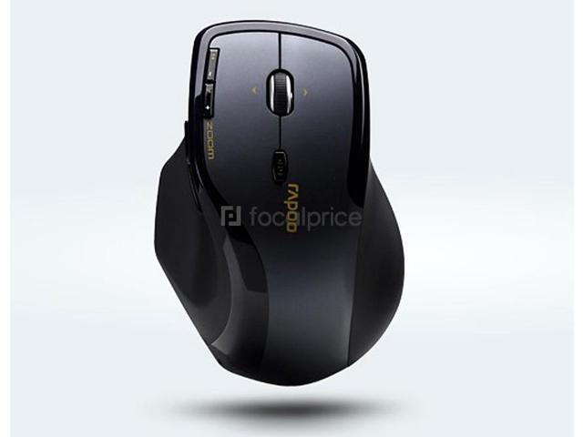 Rapoo 7600 2.4GHz Wireless Optical Mouse (Black)