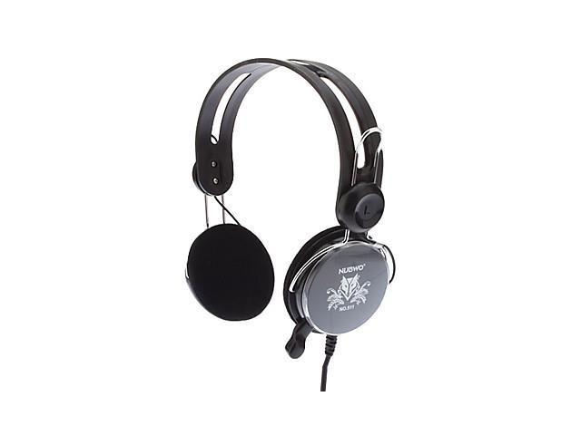 NUBWO-511 Deep Bass High-Resolution Stereo Headphone with Microphone(40mm Driver)