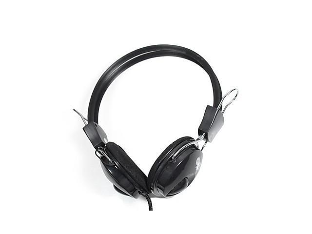 Jeway JH-0808 Stereo Music Gaming Headphones - Black (3.5mm-Plug / 2m±0.3m-Cable)