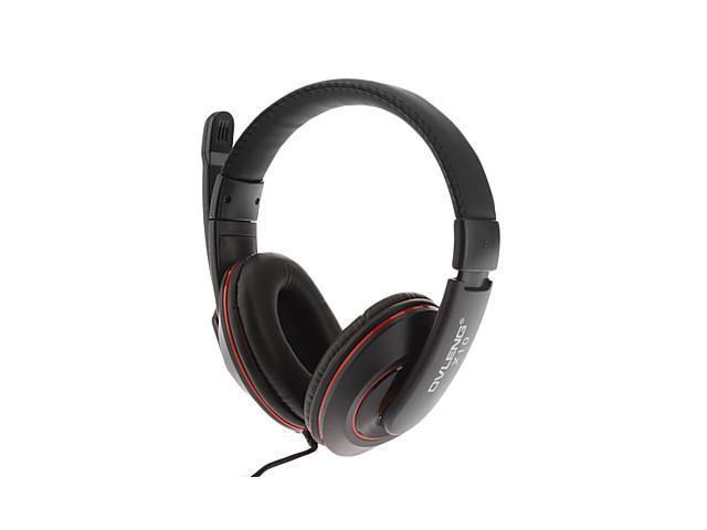 X10 Fashionable Hifi Stereo Music On-Ear Headphone Black