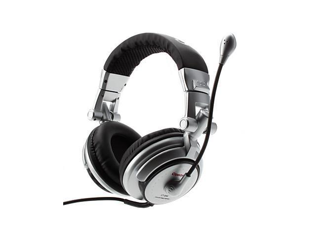 Cosonic 50mm Speaker Unit Powerful Bass Noise-Reduction Headphone with Mic