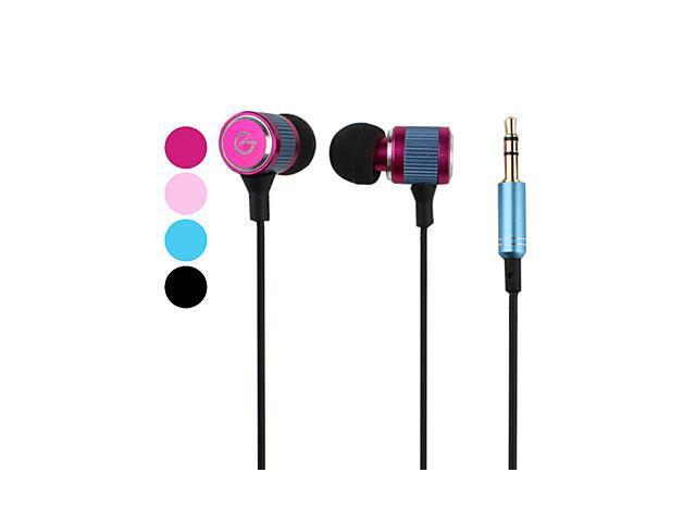 Superior Bass Metal Material In-Ear Earphones (Assorted Colors)