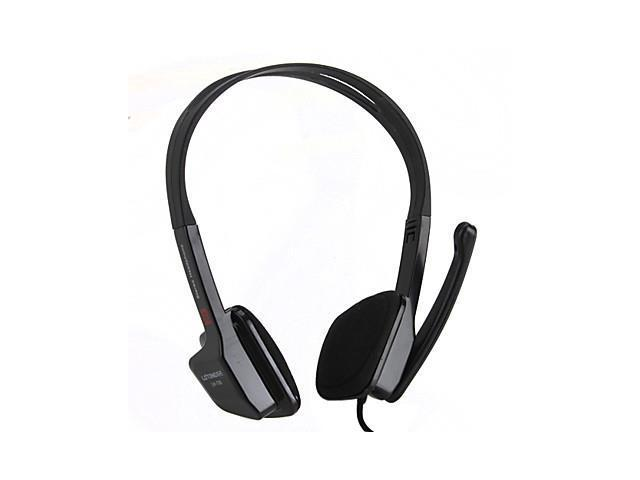 Stylish High-Performance Sound PC Headphone with Mic and Volume Control