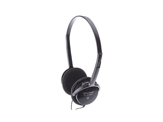 OVLENG 619 Slim Lightweight Comfort Stereo Headphone with Microphone for Gaming & Skype