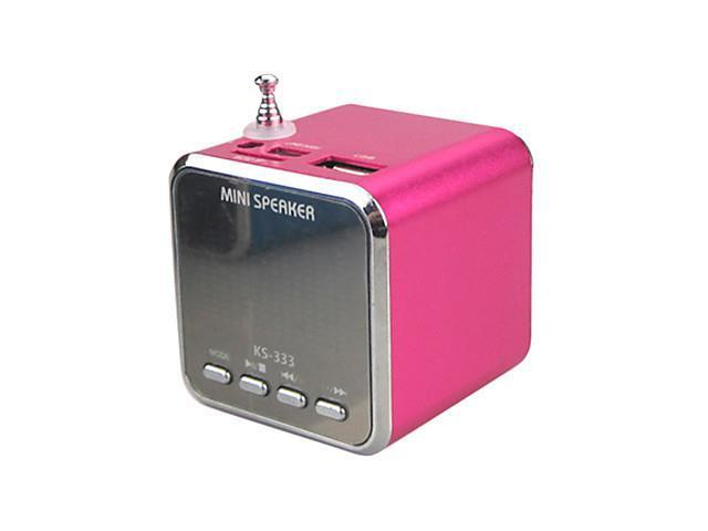 KS-333 Rechargeable USB Disk & TF Card MP3 Player Speaker with FM (4W)