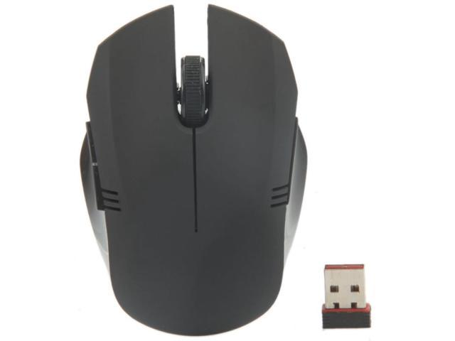 2.4G Wireless Optical Mouse Black