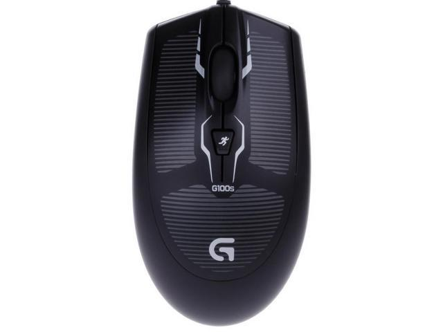 Logitech G100s USB Wired 250-2500dpi Optical Gaming Mouse Black & White (208-Cable)