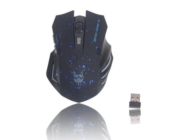 Mini 3231 2.4G Wireless Optical Mouse Blue