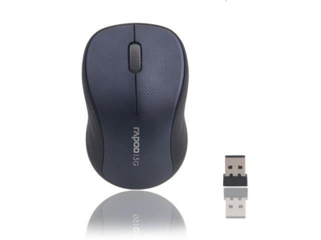 Rapoo 3000P 5G Wireless Optical Mouse Blue