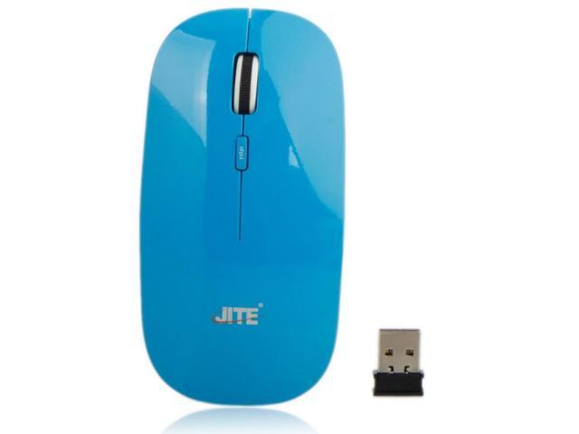 6100 2.4G Wireless Optical Mouse Blue