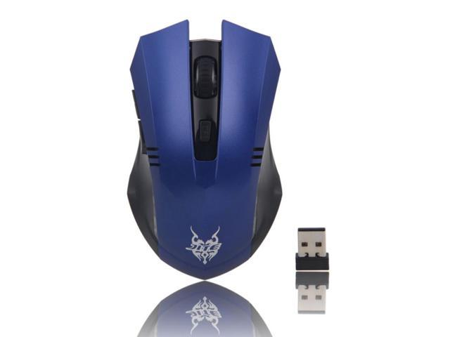 3233 USB 2.4G Wireless Optical Mouse Blue