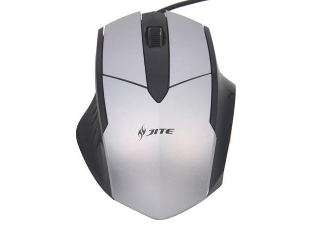5063 High-Performance USB 145CM Wired Mouse Silver