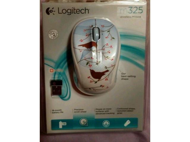 Logitech M325 Wireless Mouse Tweet Tweet