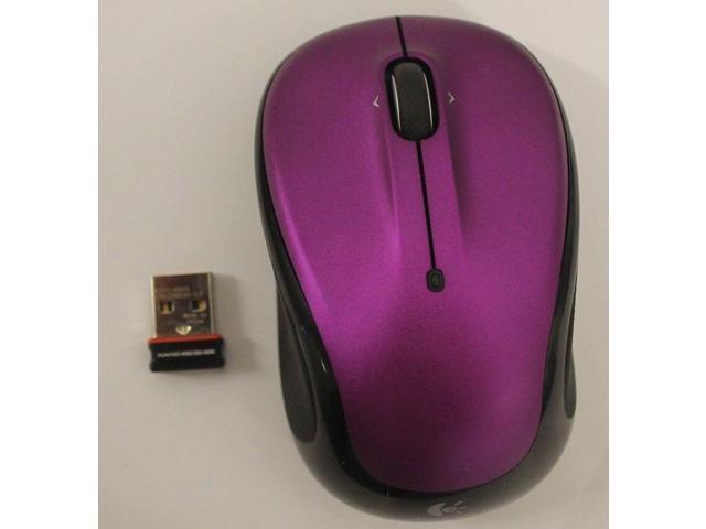 Logitech M325 Wireless Lazer Mouse - Vivid Violet 910-003120
