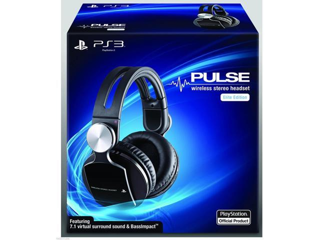 Brand New Box PS3 Pulse Wireless Stereo Headset Elite 99037 711719990376