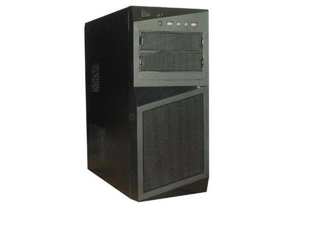 iMicro CA-IM1629D 450W ATX Mid Tower Case (Black)