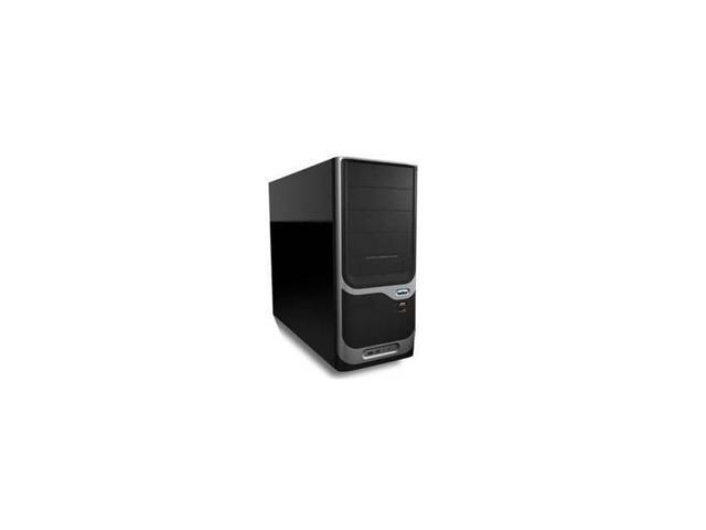 Pc-375 Atx 300W Mid Tower Case (Black/Grey)