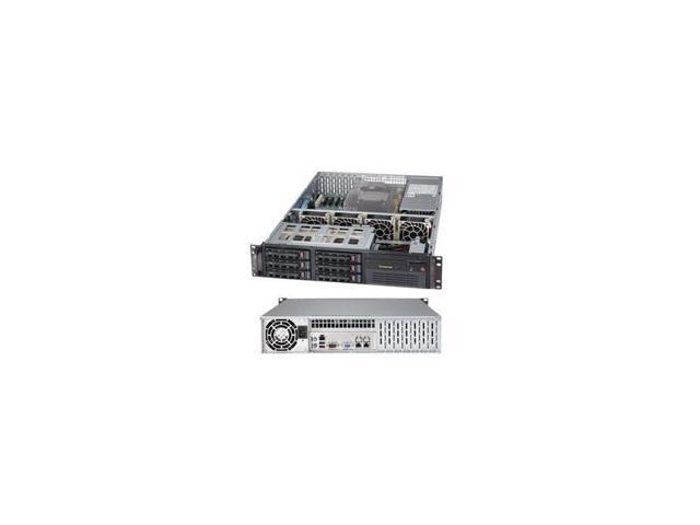 Supermicro Superserver Sys-6027B-Tlf Dual Lga1356 650W 2U Rackmount Server Barebone System (Black)