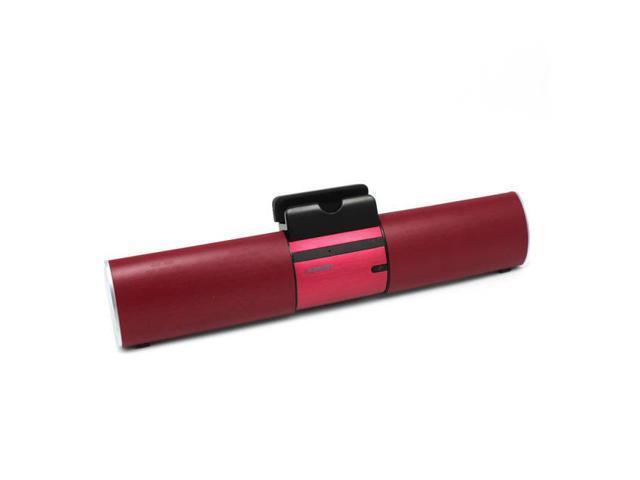 Ikanoo Bt008 Portable Bluetooth Speaker W/ Metal Stand (Red)
