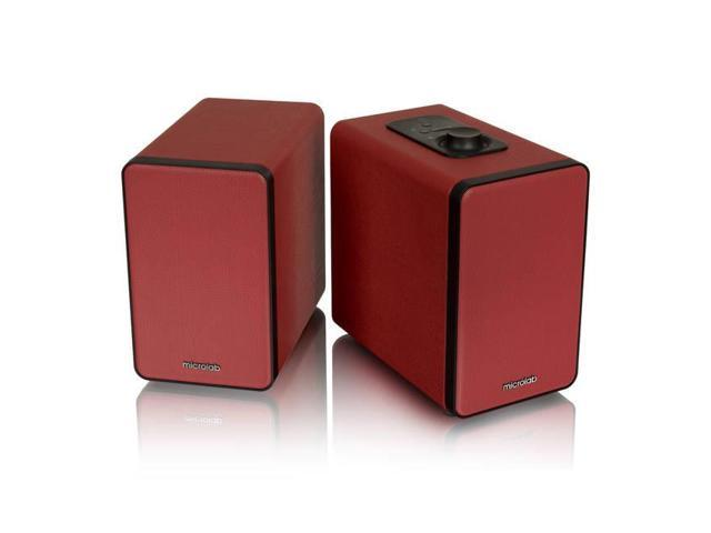 Microlab H21 Bluetooth Wireless Speaker (Red)