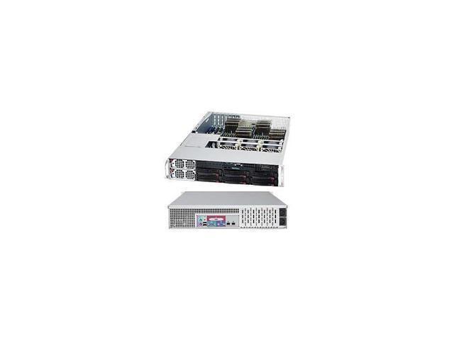 A+ Server 2042G-6Rf Quad Socket G34 1400W 2U Rackmount Server Barebone System (Black)