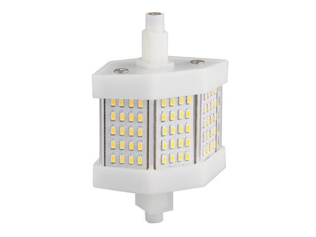 R7s 78mm 60 SMD LED Warm White Halogen Flood Light Lamp Replacement 6W