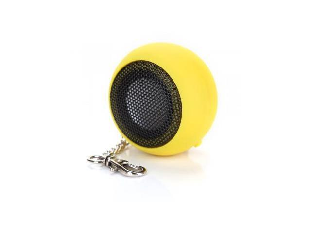 DK-601 Mini Capsule Speaker Rechargeable for MP3 Mobile Cell Phone Yellow